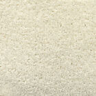 Exton Ivory Cream Quality Twist Carpet 4m Wide Lounge Bedroom Stairs Cheap