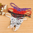 Butterfly Embroidery Glitter Women's G-string Sexy Underpants Briefs Underwear