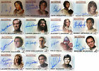Benedict Starbuck A1 A2 A10 Auto Costume Trading Card Battlestar Galactica