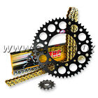 HONDA CRF250R CRF 250R 2004 - 2012 THC CHAIN AND BLACK RENTHAL SPROCKET KIT