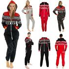 Womens Onesie Unisex Mens Ladies Chinguard Aztec Print ZipUp All In One Jumpsuit