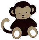 "5-8"" COCALO JACKSON MONKEY  WALL SAFE STICKER  BORDER CUT OUT"