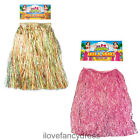 HAWAIIAN GRASS HULA SKIRT LONG 80CM LUAU ADULT BEACH PARTY FANCY DRESS HEN NIGHT