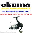 OKUMA ENDURO BAITRUNNER REEL BAITFEEDER MATCH FLOAT BARBEL PIKE CARP ROD FISHING