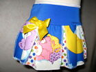 New Rock White blue pink Yellow Carebears spot Festival  Skirt-Party lolita Gift