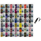 Design Hard Snap-On Rubberized Case Cover+Stylus Plug for iPod Touch 5th Gen 5G