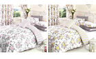 Vintage Floral Duvet Cover Poly Cotton Print Bedding Bed Quilt Cover Set