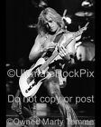 Doug Aldrich Photo Whitesnake 16x20 Black and White Concert Photo Marty Temme B
