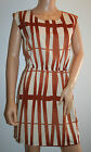 159.MA Summer Stripped Dress Size 12 New
