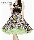 HELL BUNNY Swing 50s DRESS Zombie B-MOVIE Horror All Sizes