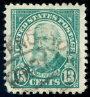 momen: US Stamps #622 Used SUPERB JUMBO