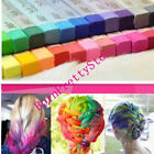 Temporary Colour Fast Easy Hair Dye Crayon Chalk Soft Pastels Salon 24 Colors