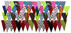 Bunting Kit Makes 70ft -150ft Fun Party Cotton Bunting Random Mixed Colours