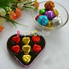 """3"""" X 3"""" 100Pcs Foil Wrappers Candy Chocolate Sweets Confectionary Cake BIUS"""