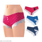 NEW 1,3,6 PAIRS WOMENS/LADIES LACE TRIM KNICKERS/PANTS/SHORTS SIZE 10/12/14/16