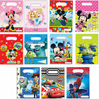 6 Pack of Childrens Party Loot Bags Disney Birthday Mickey Minnie Mouse Cars