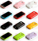 Glitter shining Soft Gel Cover Case For HTC Desire C / A320e