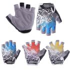 Bicycle Cycling Bike Gel Silicone Half finger Gloves Three colors Size M L XL