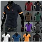 NEU Herren Polohemd Slim Fit Kurzarm Polo T-Shirt Fruit of the Loom XS,S,M,L,XL