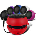 3.5MM PORTABLE CAPSULE RED SPEAKER FOR VARIOUS MOBILE PHONES