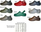 WOMENS NURSING MEDICAL  CLOGS GARDEN  SHOES ASSORTED COLORS 5 6 7 8 9 10 11