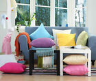 VARIOUS COLOURS New Cotton European 65X65 EURO PILLOWCASE Decorative Pillow Slip