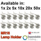 Packs of MR16 Socket LED bulb halogen CFL Lamp Lights Holder base Wire Connector