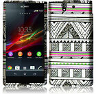 For Sony Xperia Z Rubberized HARD Protector Case Snap On Phone Cover