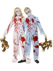 Child Zombie Pyjama Boy Girl Fancy Dress Costume Halloween Undead Horror Kids