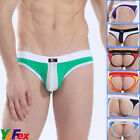 New Sexy Mens Holes Cotton Underwear Y-Front Briefs Backless Jockstrap G String