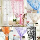 1Pc Butterfly Door Room Divide Window String Curtain Multi Colors For Pick 1X2m