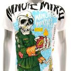 m209w Minute Mirth T-shirt Sz M L Tattoo LIMITED ED w/ BOX NIB Soldier Graffiti