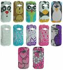 For Samsung Galaxy Ring M840 Prevail 2 Cover Bling Design Hard Diamond Case