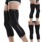 New Cool PJ Men's Reflective Logo Sports Outdoor Cycling Comfy Knee Wear XS~L