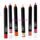 1pc Fanshion Popular Candy Color Lip Pencil Hot Bright Red Lipstick 6 Colors