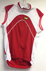 INVERSE Free SLEEVELESS CYCLING JERSEY in Red