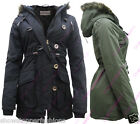 NEW PARKA GIRLS JACKET COAT HOODED Girls Padded CLOTHING AGE 7 8 9 10 11 12 13