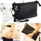 Hot Fashion Women's Synthetic Leather Woven Pattern Handbag Shoulder DZ88 Party