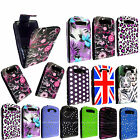 PRINTED LEATHER MAGNETIC FLIP CASE COVER FOR BLACKBERRY BOLD 9700 9780 + GUARD