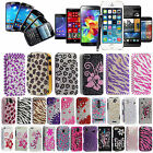 Stylish Bling Glitter Diamond Hard Case Cover For Various Phones + Guard +Stylus
