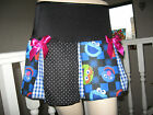 NEW  Black,Blue,Pink Cookie Monster,Spot,Check,Retro,Rock,Partyl Skirt-All sizes