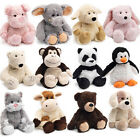 COZY PLUSH MICROWAVEABLE HEATED MICROWAVE TOY CUDDLY SOFT ANIMALS HEATABLE KIDS