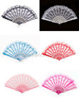 New Hot Chinese Wing Chun Style Dancing Fun Folding Lace Hand Fan