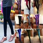 Hot Sexy Cool Lady Girl Woman Pleuche Velvet Silm Stretchy Leggings Tights Pants