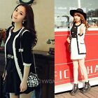 New  Womens Fashion Flower Manmade Pearl Design Knit Coat Sweater Knitwear Tops