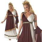 Adult Ancient Roman Empress Toga Party Costume Goddess Dress Halloween Outfit