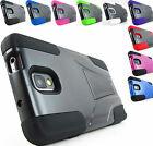 for Samsung Galaxy Note III 3+PryTool Sleek Hybrid Hard/Soft stand Case Cover