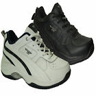 MENS HI-TEC LEATHER BRONX SQUASH RUNNING TRAINERS SHOES 6-7 UK NEW