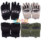 Outdoor Sports Half Finger Fingerless Military Tactical Cycling Gloves KZUK