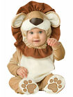 Child Infant Lovable Lion Fancy Dress Costume Jungle Animal Cat Kids Boys Girls